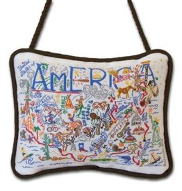 America Mini Pillow
