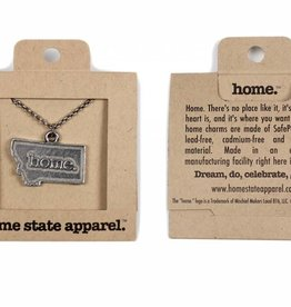MT Home Pewter Necklace