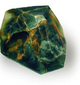 Soap Rocklet- Malachite 4.8 oz.