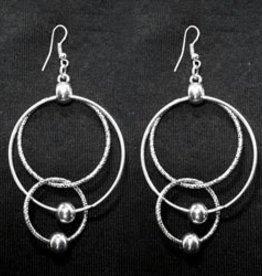 Multi Ring Drop Earring