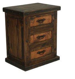 Nightstand w/ Reclaimed Wood Drawers
