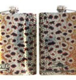 Sundell's Brown Trout Skin Hip Flask