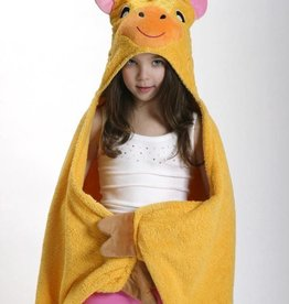 Jaime the Giraffe Hooded Towel