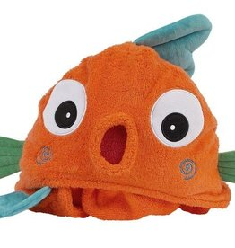 Sushi the Tropical Fish Hooded Towel