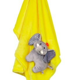 Baby Buddy Blanket Elephant/Yellow