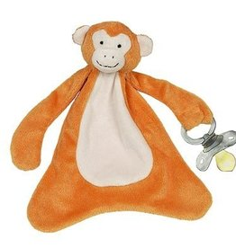 Bonkers the Monkey Pacifier Blankie