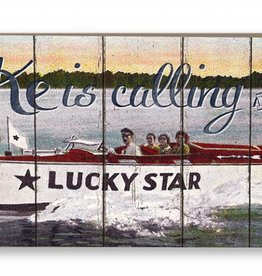 18x7 Lake is Calling Lucky Star