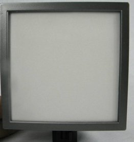 Jada Venia Night Light with Charcoal Square Frame