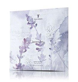 Lavender Bath Salts Envelope