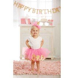 Toddler Girl Glitter 2 Tutu Set