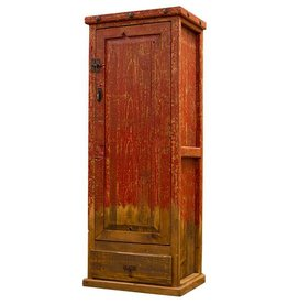 Red Pine Cabinet