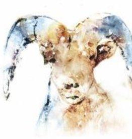 Watercolor Ram Canvas 20x20
