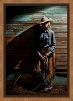 At the End of the Day (Cowgirl with a Rope)