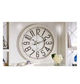 MDF & Glass Wall Clock