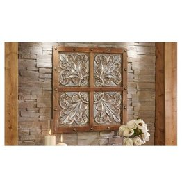 Wood/Iron Wall Plaque