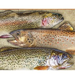 Trout Fish Collage