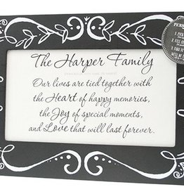 Large Chalkboard Personalized Frame
