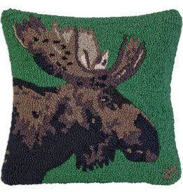 "MAJOR MOOSE 18""X18"" HKD PILLOW"