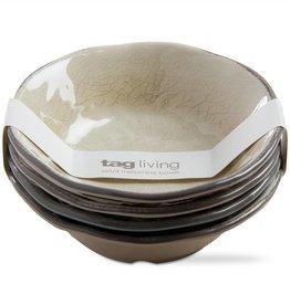 Veranda Melamine Bowls Set/4