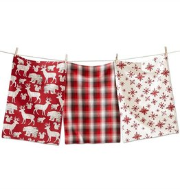 Woodland Grain Dishtowel SET/3