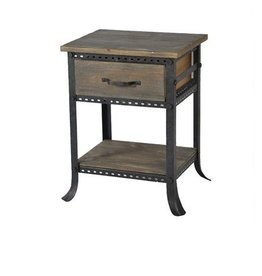 Cirque End Table with Drawer