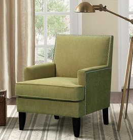 Colton Track Arm Club Chair - Green
