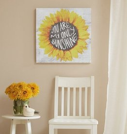You Are My Only Sunshine Gel Coated Canvas