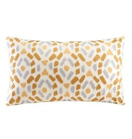 Auden Embroidered Ogee Ikat Decorative Pillow