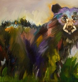 Meadow Bear 30x36