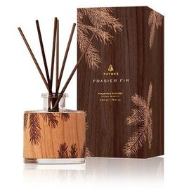 Frasier Fir Reed Diffuser, Petite Wood Design