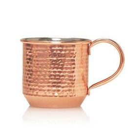 Simmered Cider Copper Mug Candle