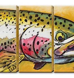 3 Aluminum Panel Little Rainbow 63x42 ED Anderson