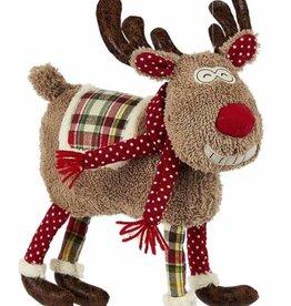 Whimsical Boy Deer Pillow