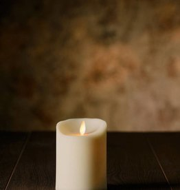 "4""H Oblique Edge LED Candle"
