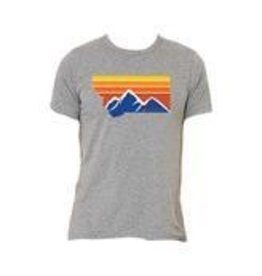 Latitude 47 Scoop Neck Tee - Heather Grey, Medium