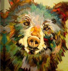 Bruno Bear 25x20 Canvas
