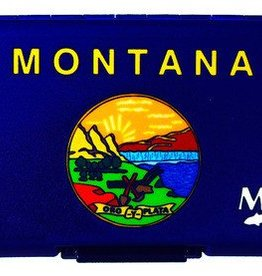 Montana State Flag Poly Fly Box