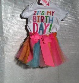 Baby Girl Birthday Tutu Set 12-18 months