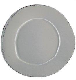 Lastra Gray European Dinner Plate