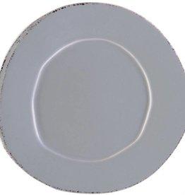 Lastra Gray Dinner Plate