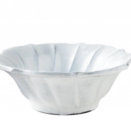 Incanto White Ruffle Cereal Bowl