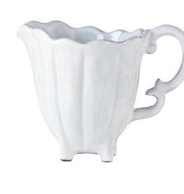 Incanto White Scallop Creamer