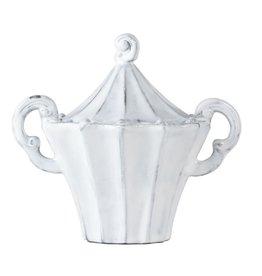 Incanto White Stripe Sugar Bowl