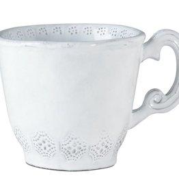 Incanto White Lace Mug Individual