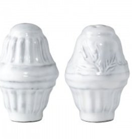 Incanto White Salt and Pepper Shakers