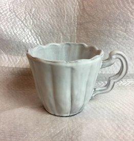 White Scallop Mug