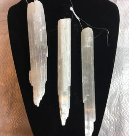 Selenite Icicles Ind-Medium