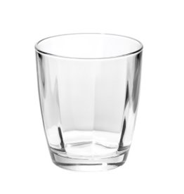 ... timeless crystal in the Optical Smoke Gray Double Old Fashioned Glass