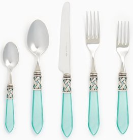 Aladdin Aqua Antique Five-Piece Place Setting