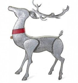Homestead Christmas Standing Galvanized Reindeer